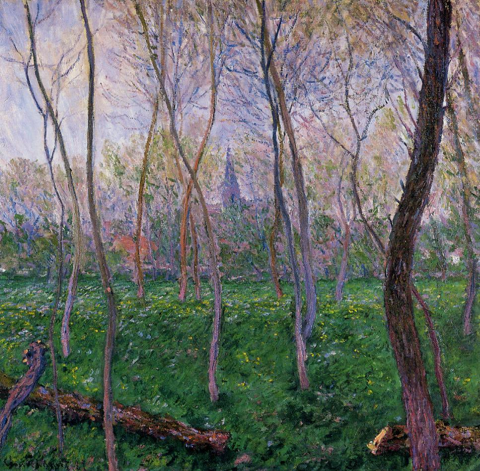 Bennecourt 1887 | Claude Monet | Oil Painting