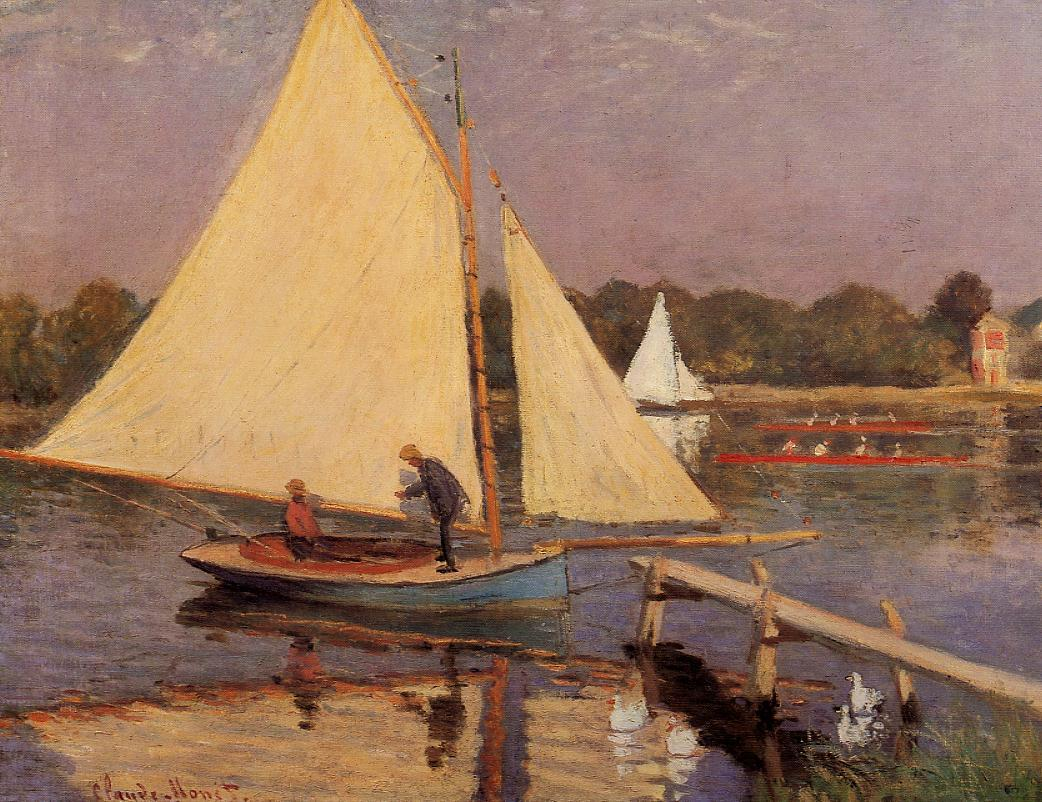 Boaters at Argenteuil 1874 | Claude Monet | Oil Painting