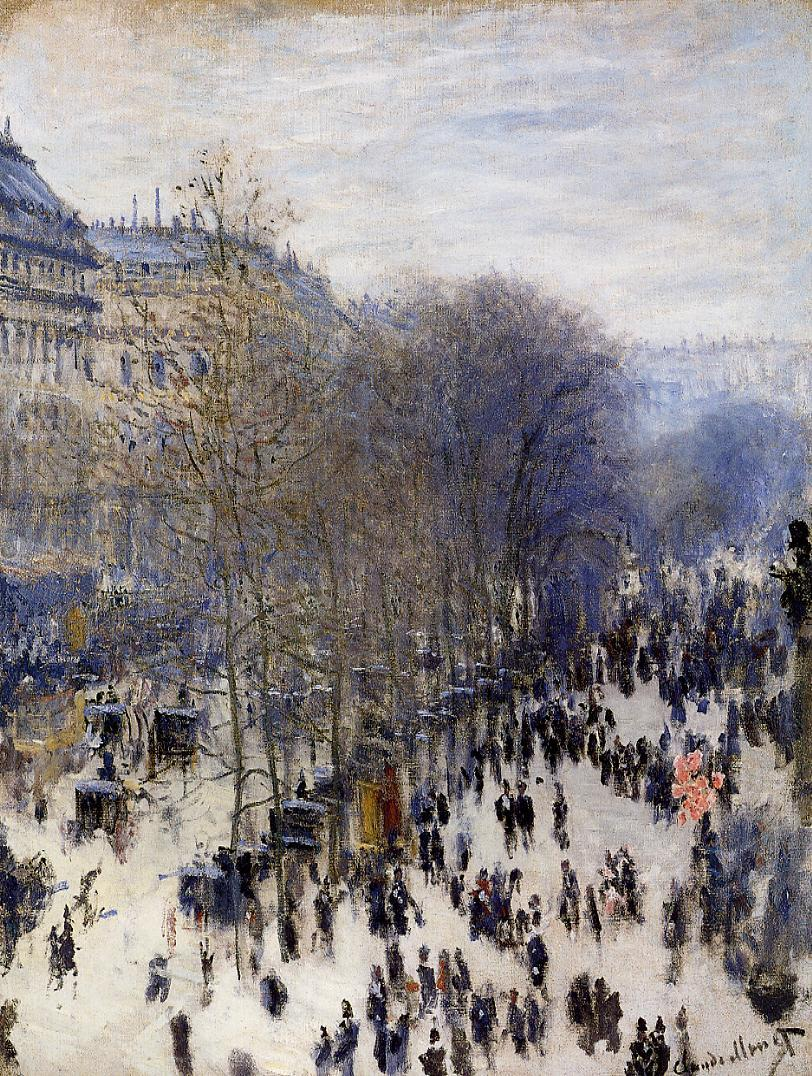 Boulevard des Capucines 1873 | Claude Monet | Oil Painting