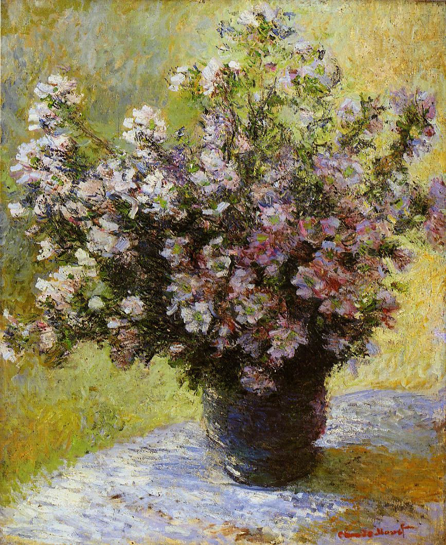 Bouquet of Mallows 1880 | Claude Monet | Oil Painting