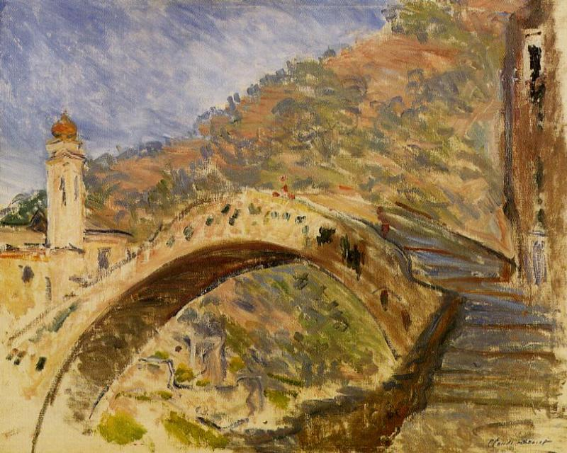 Bridge at Dolceacqua 1884 | Claude Monet | Oil Painting