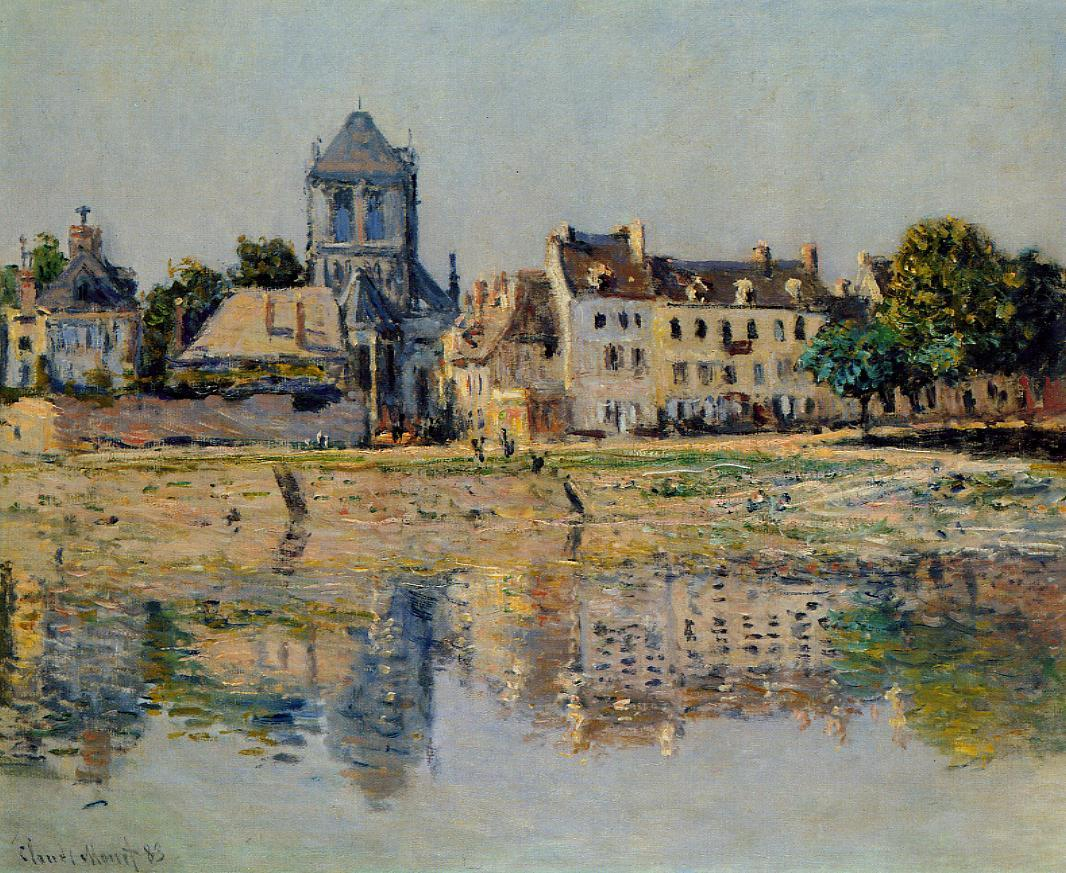 By the River at Vernon 1883 | Claude Monet | Oil Painting