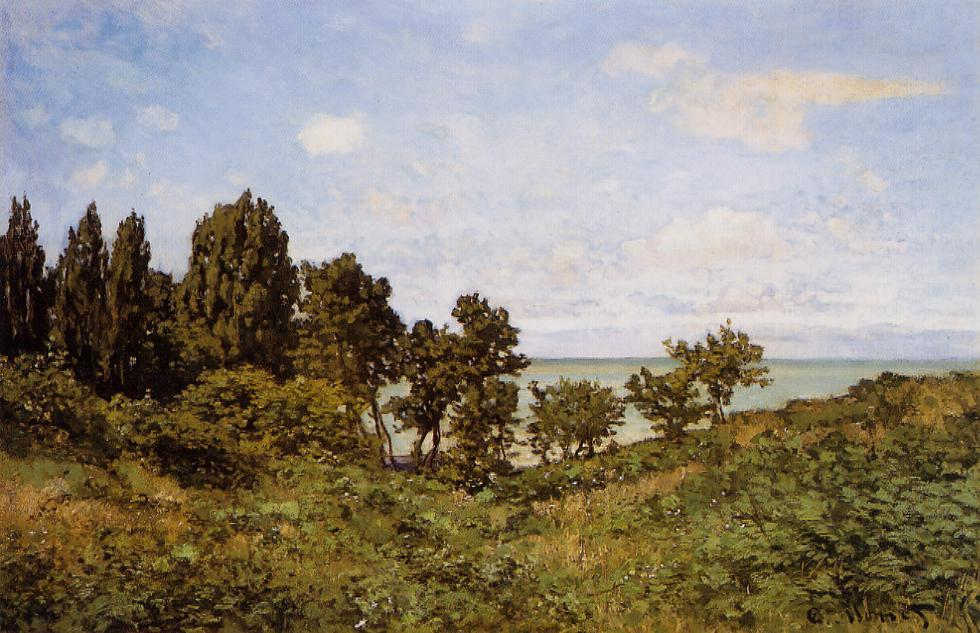 By the Sea 1864 | Claude Monet | Oil Painting