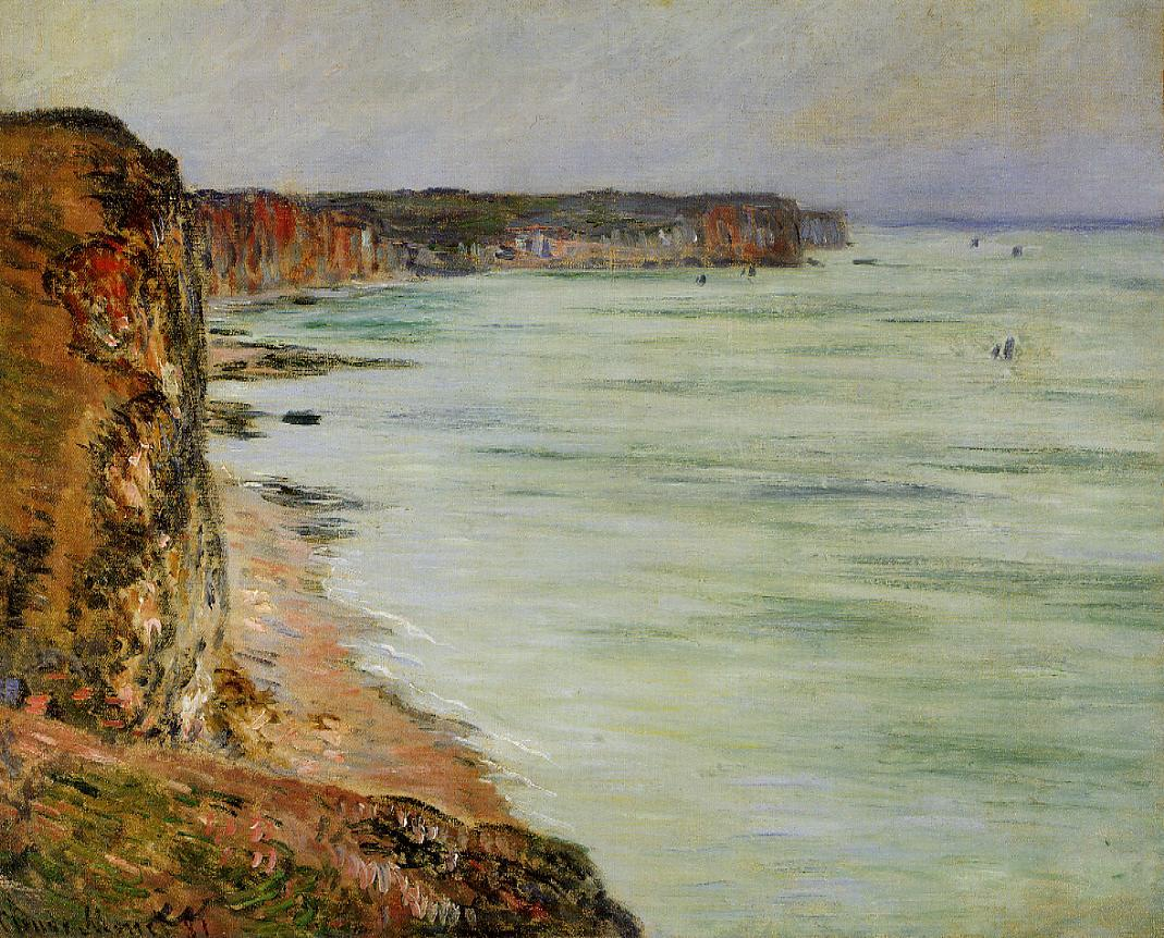 Calm Weather Fecamp 1881 | Claude Monet | Oil Painting