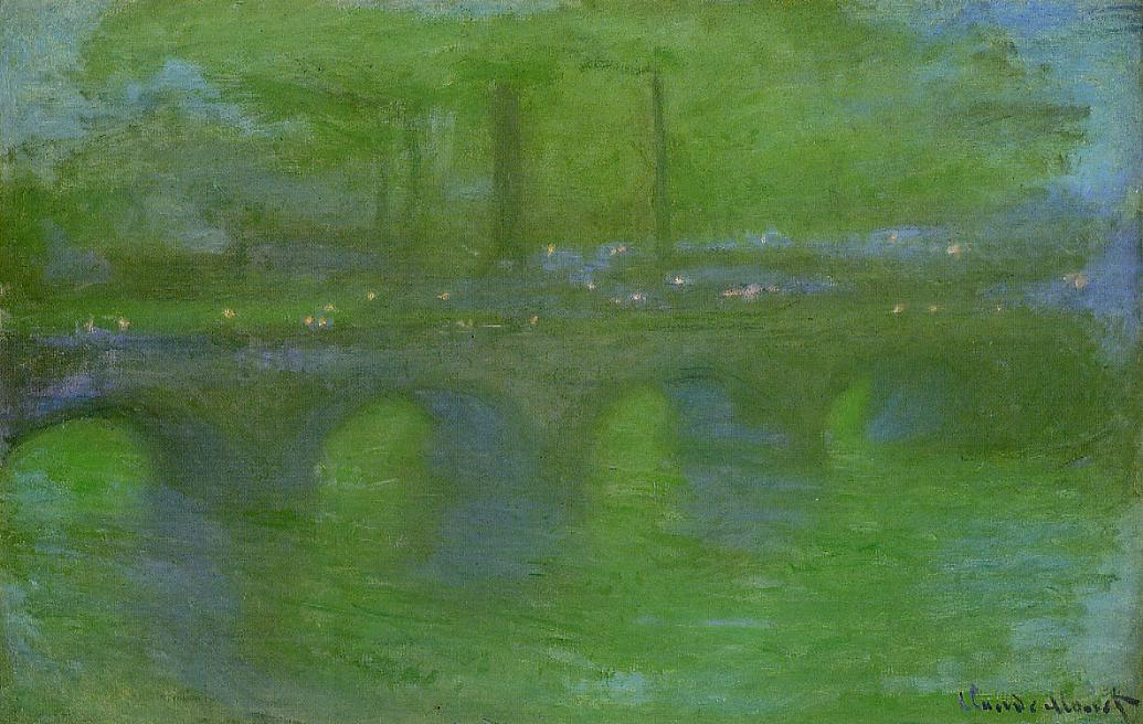 Waterloo Bridge Dawn 1899-1901 | Claude Monet | Oil Painting