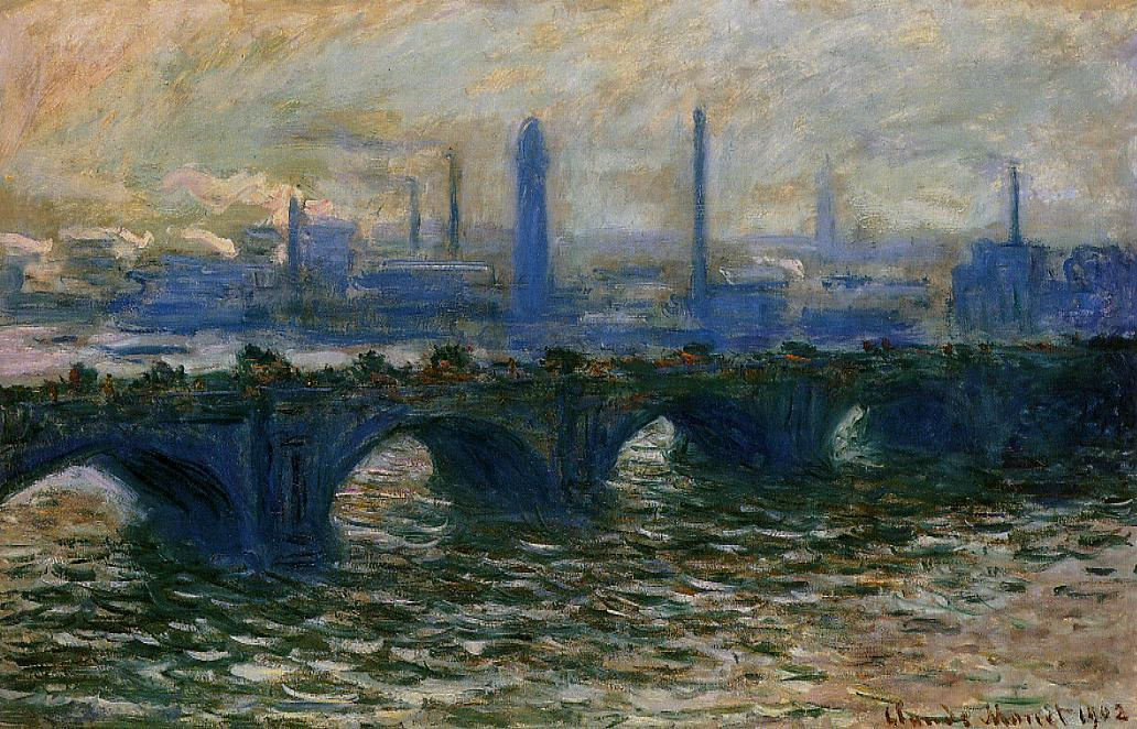 Waterloo Bridge Misty Morning 1899-1901 | Claude Monet | Oil Painting