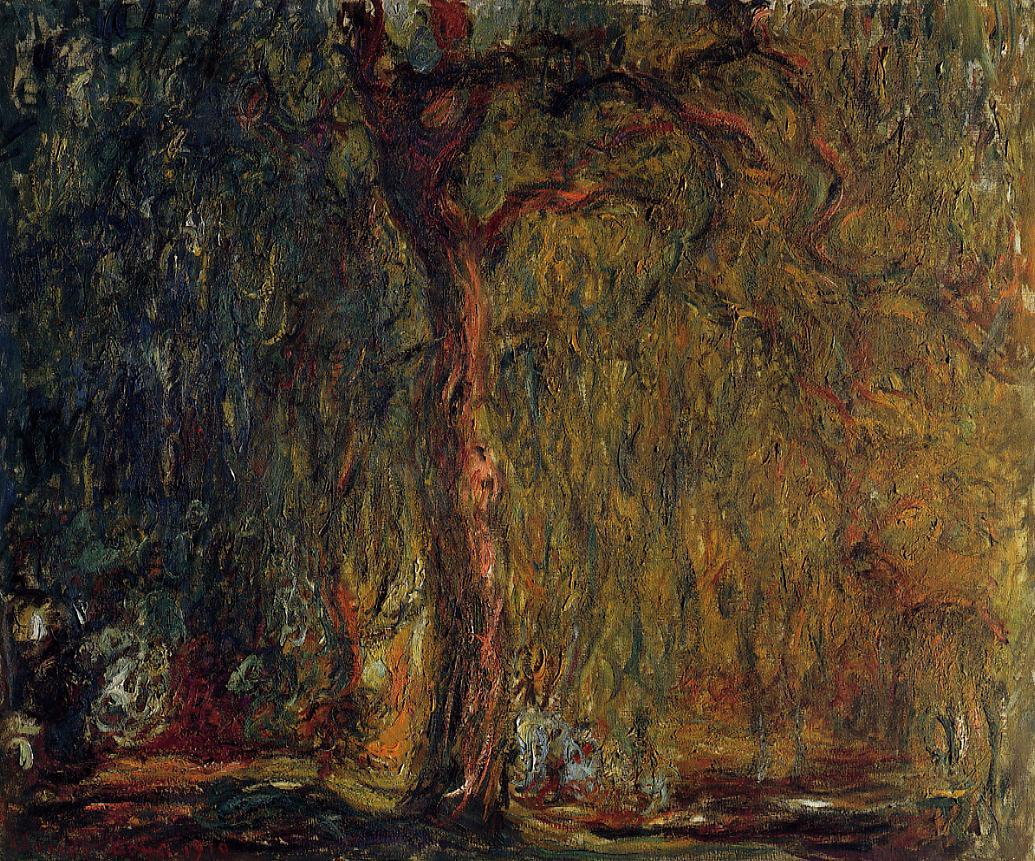 Weeping Willow1 1918-1919 | Claude Monet | Oil Painting