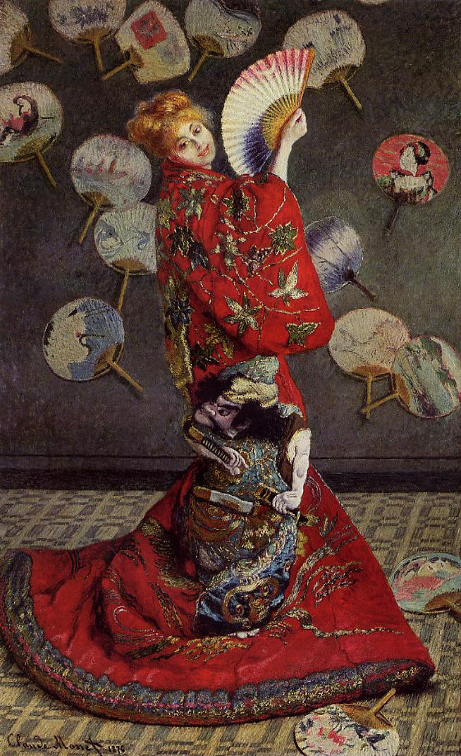 Camille Monet in Japanese Costume 1876 | Claude Monet | Oil Painting