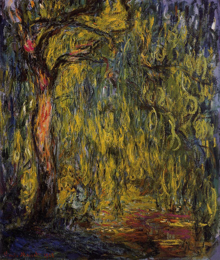 Weeping Willow2 1918-1919 | Claude Monet | Oil Painting