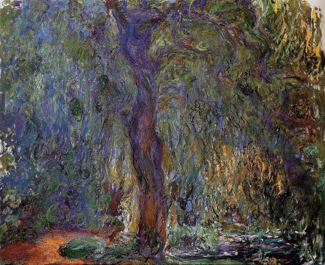 Weeping Willow3 1918-1919 | Claude Monet | Oil Painting