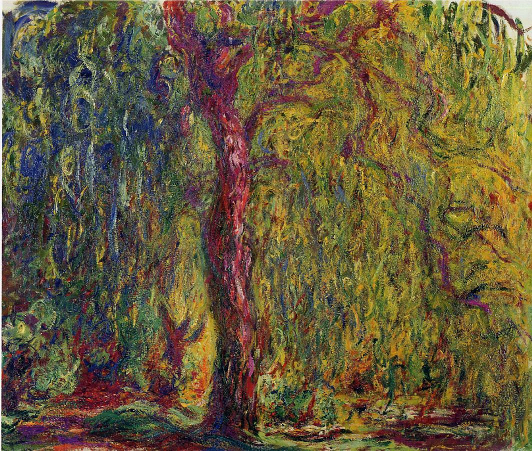 Weeping Willow4 1918-1919 | Claude Monet | Oil Painting