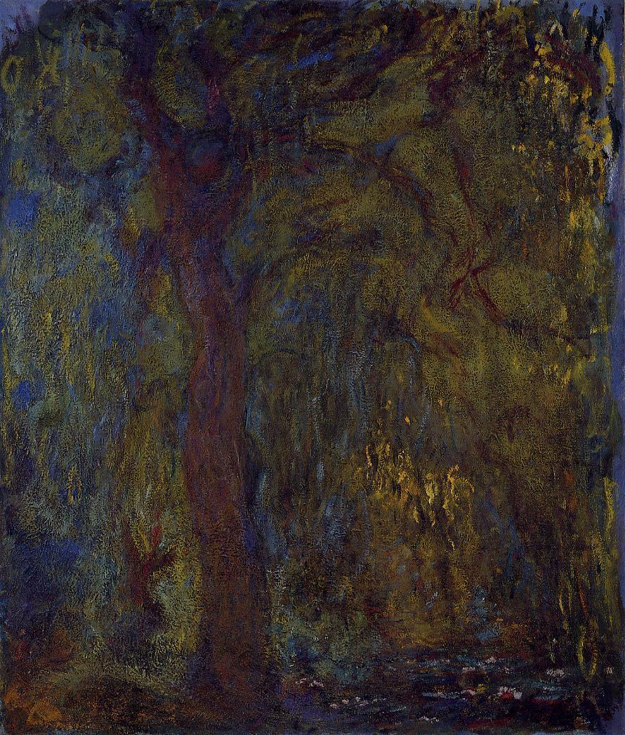Weeping Willow5 1918-1919 | Claude Monet | Oil Painting