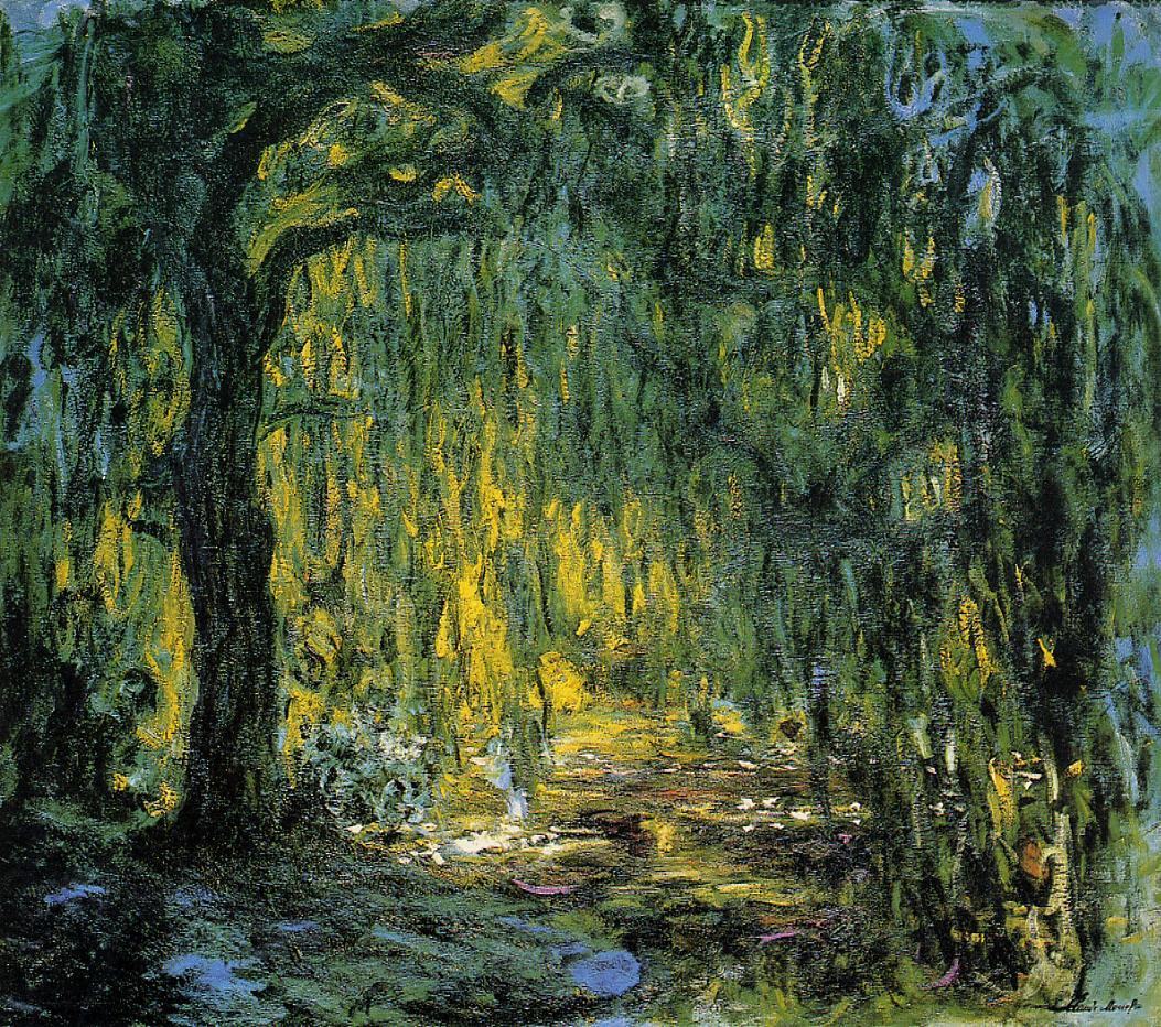 Weeping Willow6 1918-1919 | Claude Monet | Oil Painting