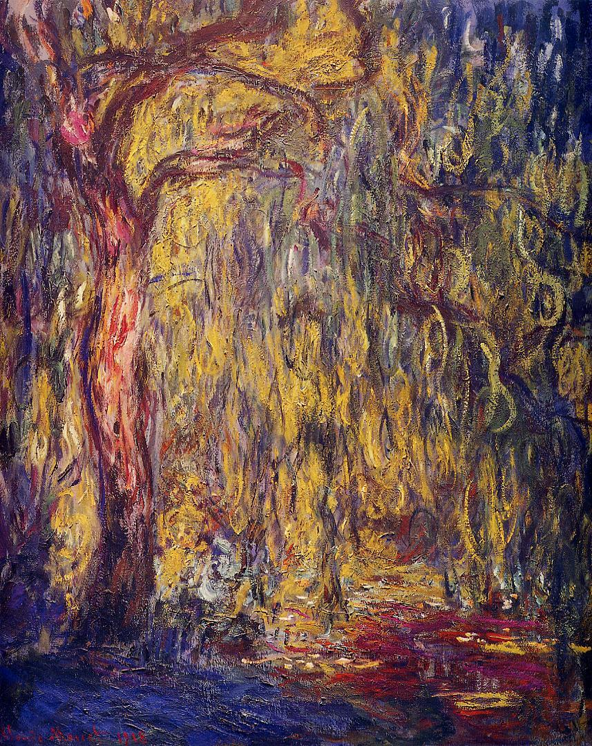 Weeping Willow 1918 | Claude Monet | Oil Painting