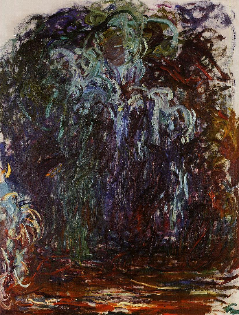 Weeping Willow 1921-1922 | Claude Monet | Oil Painting