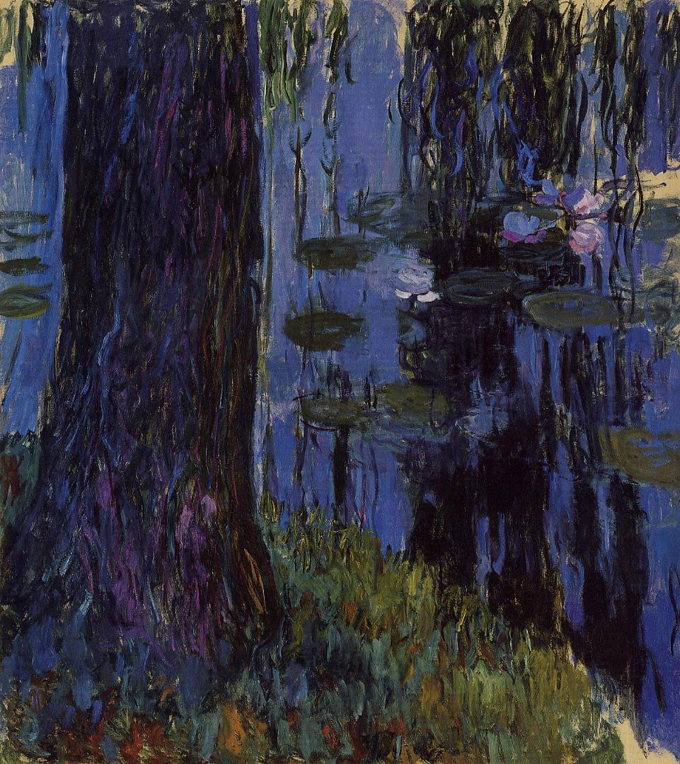 Weeping Willow and Water-Lily Pond1 1916-1919 | Claude Monet | Oil Painting