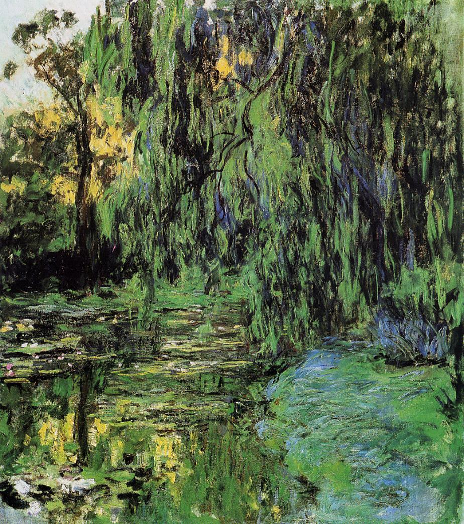 Weeping Willow and Water-Lily Pond2 1916-1919 | Claude Monet | Oil Painting