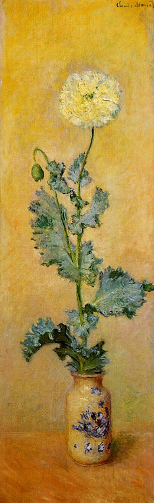 White Poppy 1883 | Claude Monet | Oil Painting