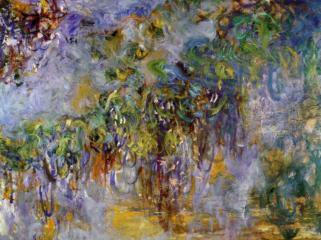 Winteria (right half) 1917-1920 | Claude Monet | Oil Painting
