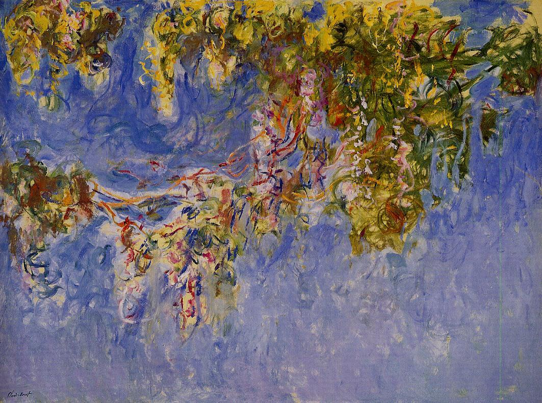 Wisteria 1919-1920 | Claude Monet | Oil Painting