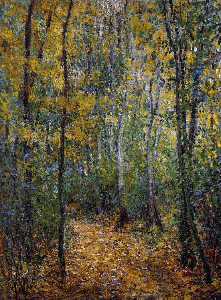 Wood Lane 1876 | Claude Monet | Oil Painting