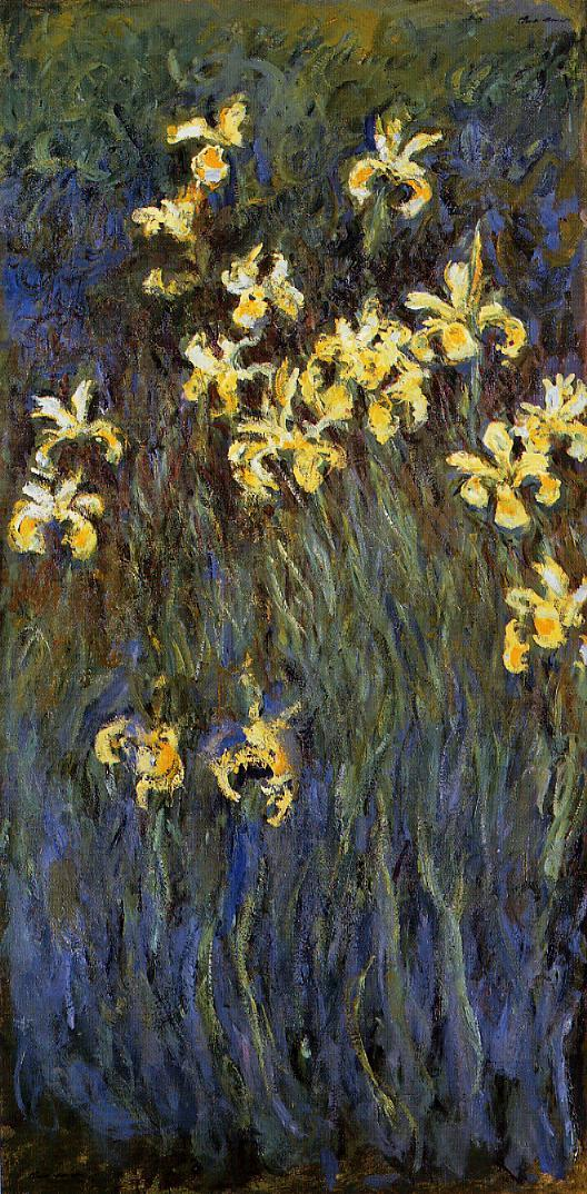 Yellow Irises2 1914-1917 | Claude Monet | Oil Painting