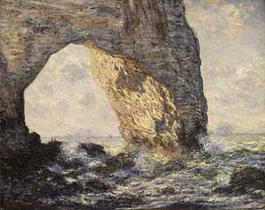 Manneporte Etretat | Claude Monet | Oil Painting