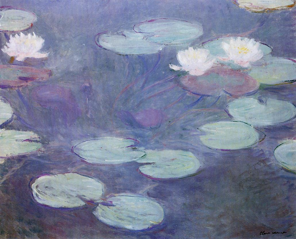 Pink Water-Lilies 1897-1899 | Claude Monet | Oil Painting