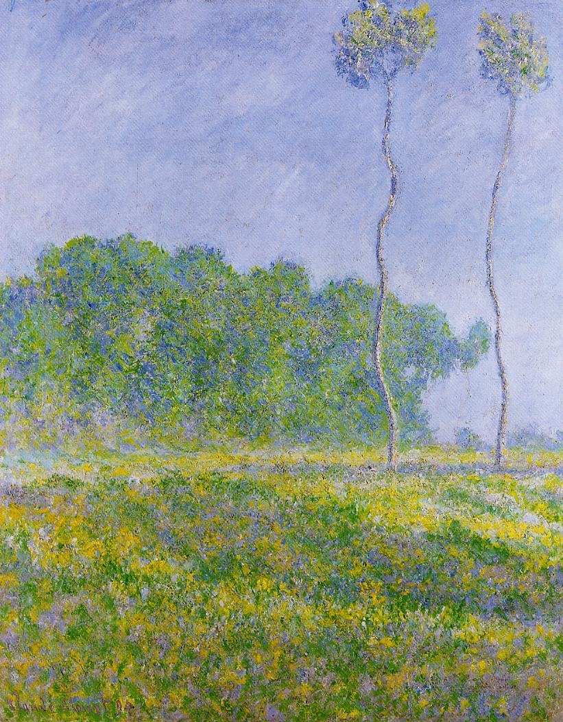 Spring Landscape 1894 Painting | Claude Oscar Monet Oil Paintings