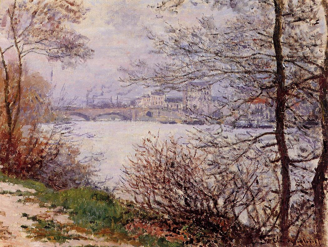 The Banks of the Seine Ile de la Grande-Jatte 1878 | Claude Monet | Oil Painting