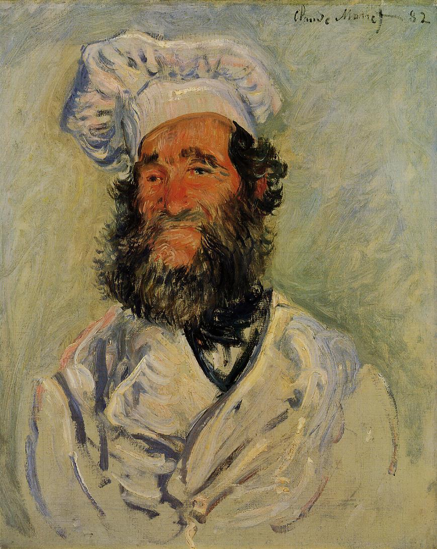 The Chef Pere Paul 1882 | Claude Monet | Oil Painting