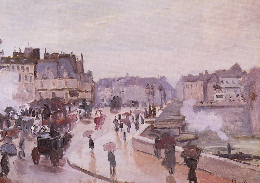 The Pont Neuf 1872 | Claude Monet | Oil Painting