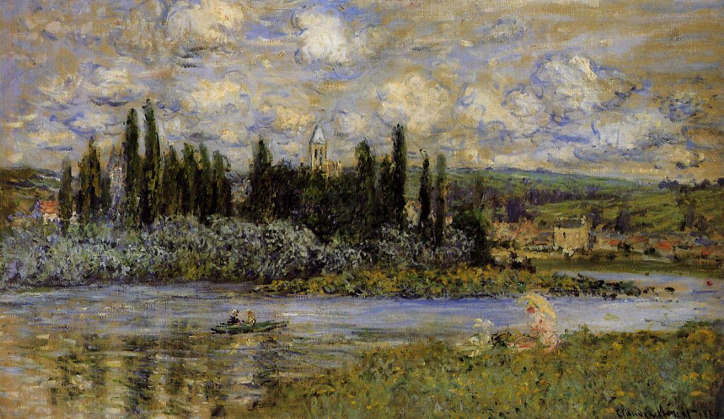View of Vetheuil 1880 | Claude Monet | Oil Painting