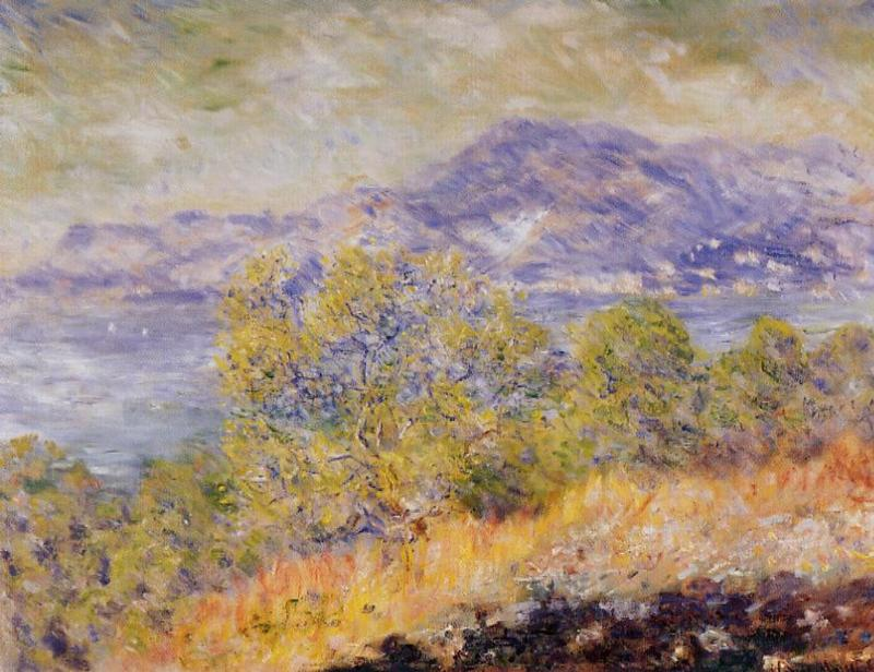 View Taken near Ventimiglia 1884   Claude Monet   Oil Painting
