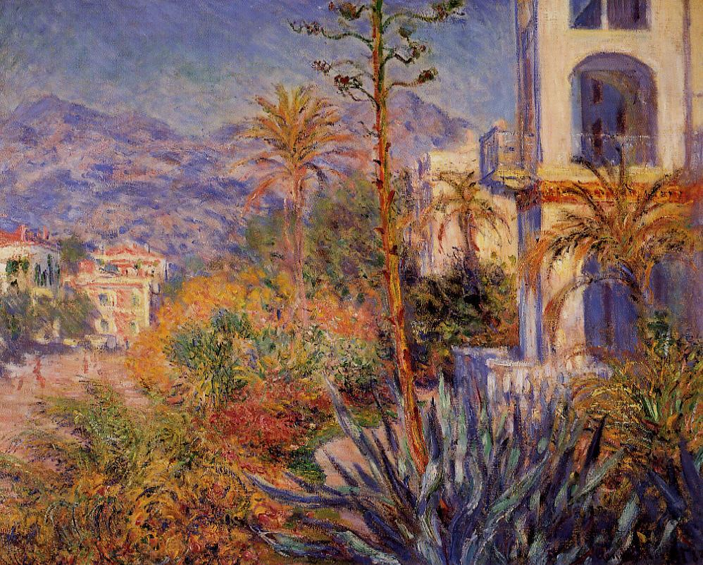 Villas in Bordighera 1884 | Claude Monet | Oil Painting
