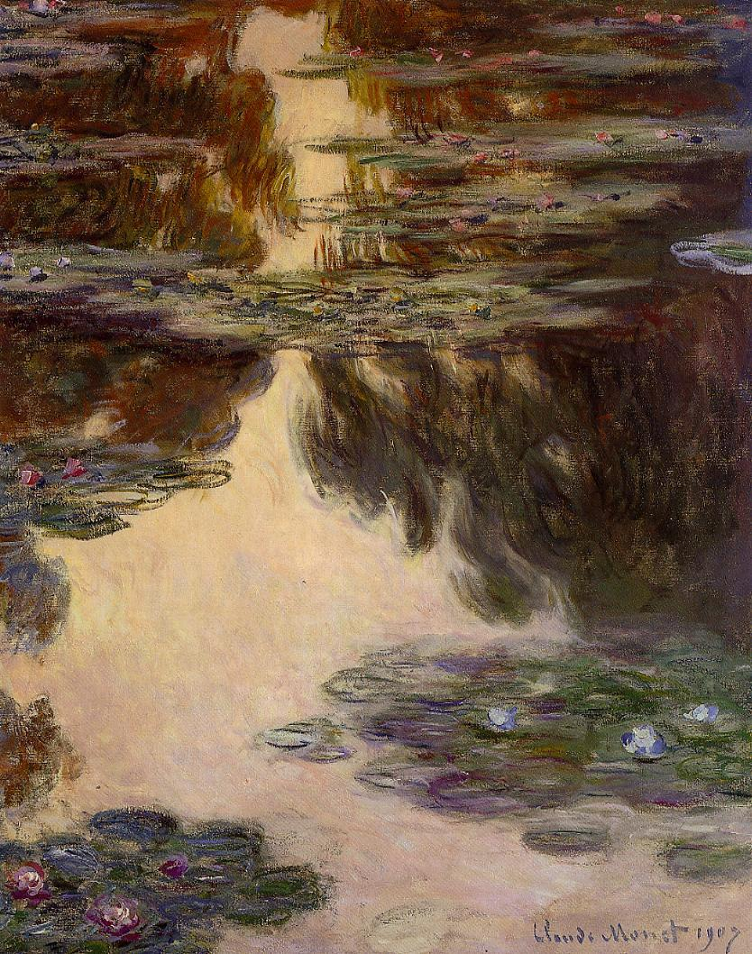 Water-Lilies10 1907 | Claude Monet | Oil Painting
