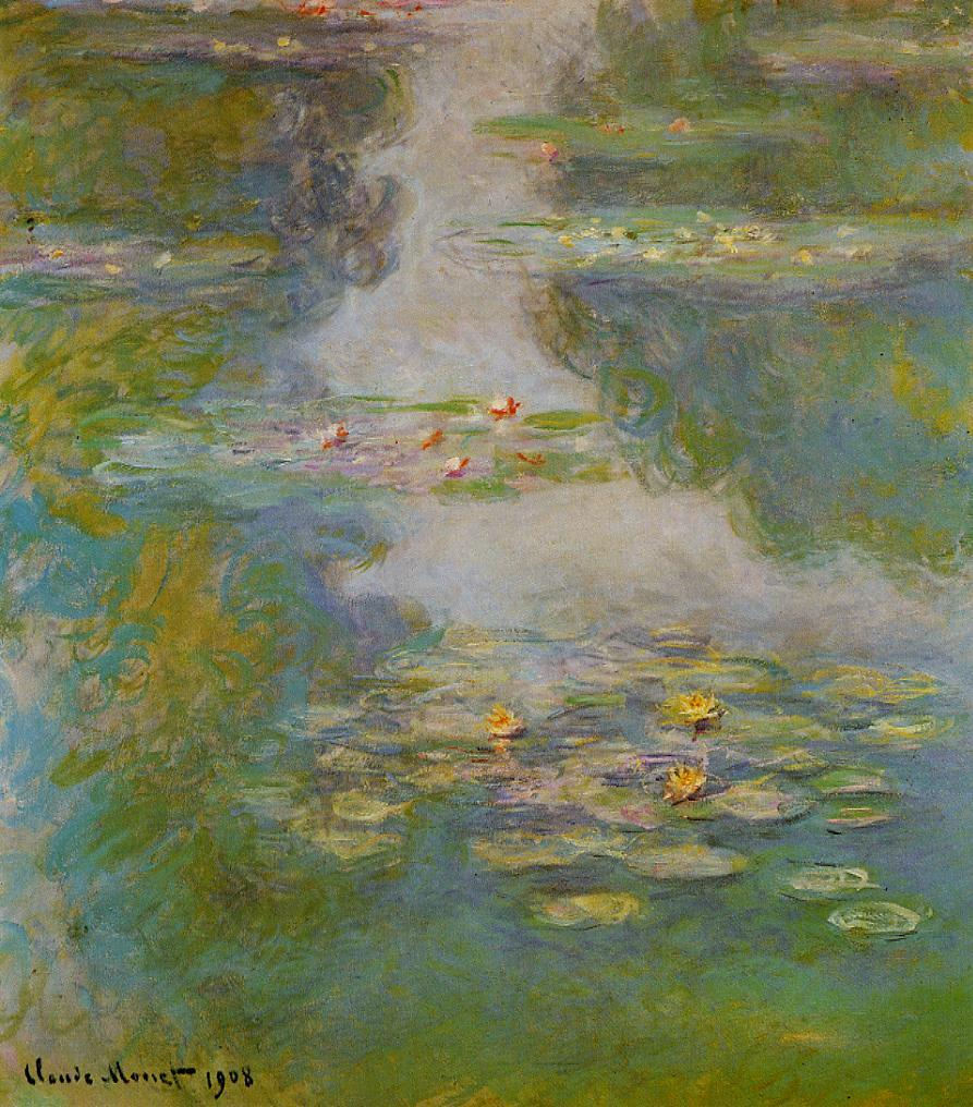 Water-Lilies10 1908 | Claude Monet | Oil Painting