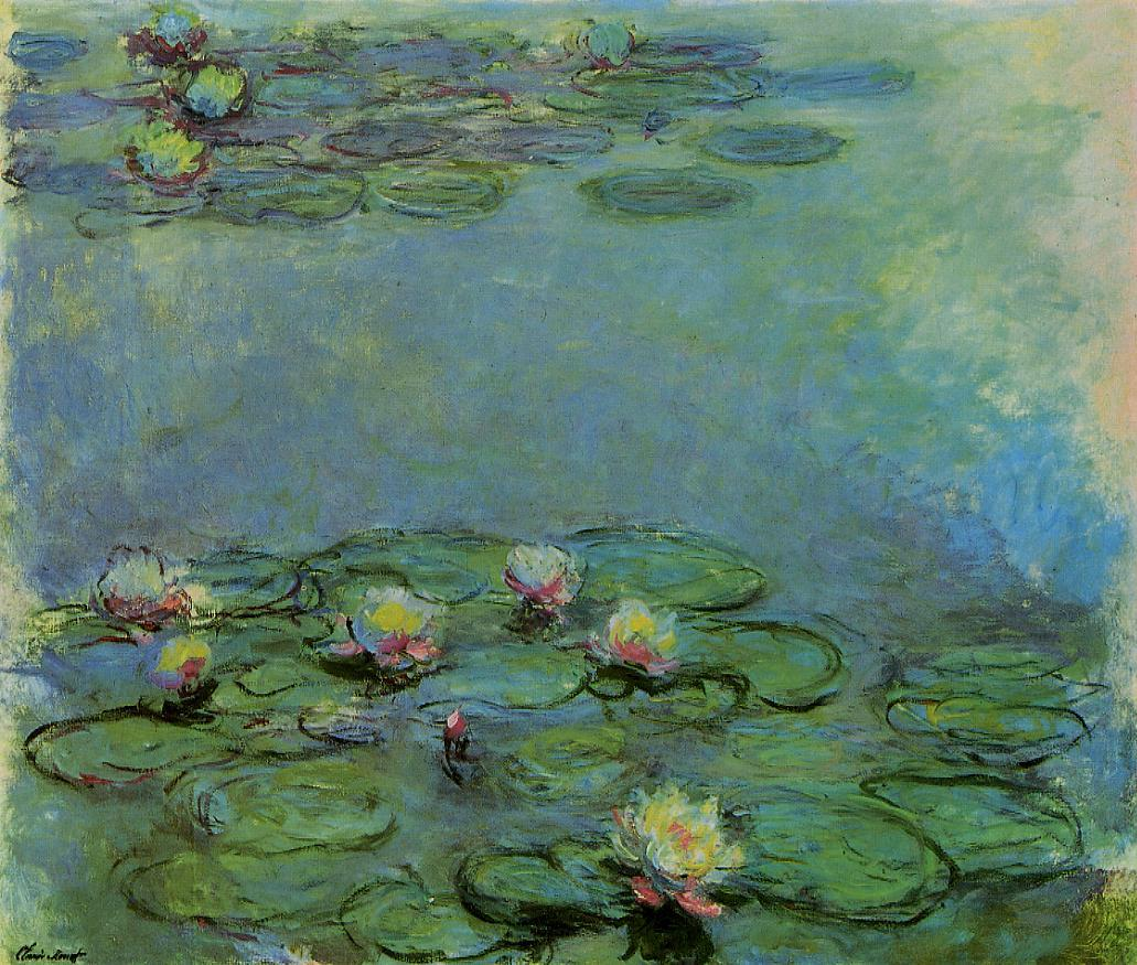 Water-Lilies10 1914-1917 | Claude Monet | Oil Painting