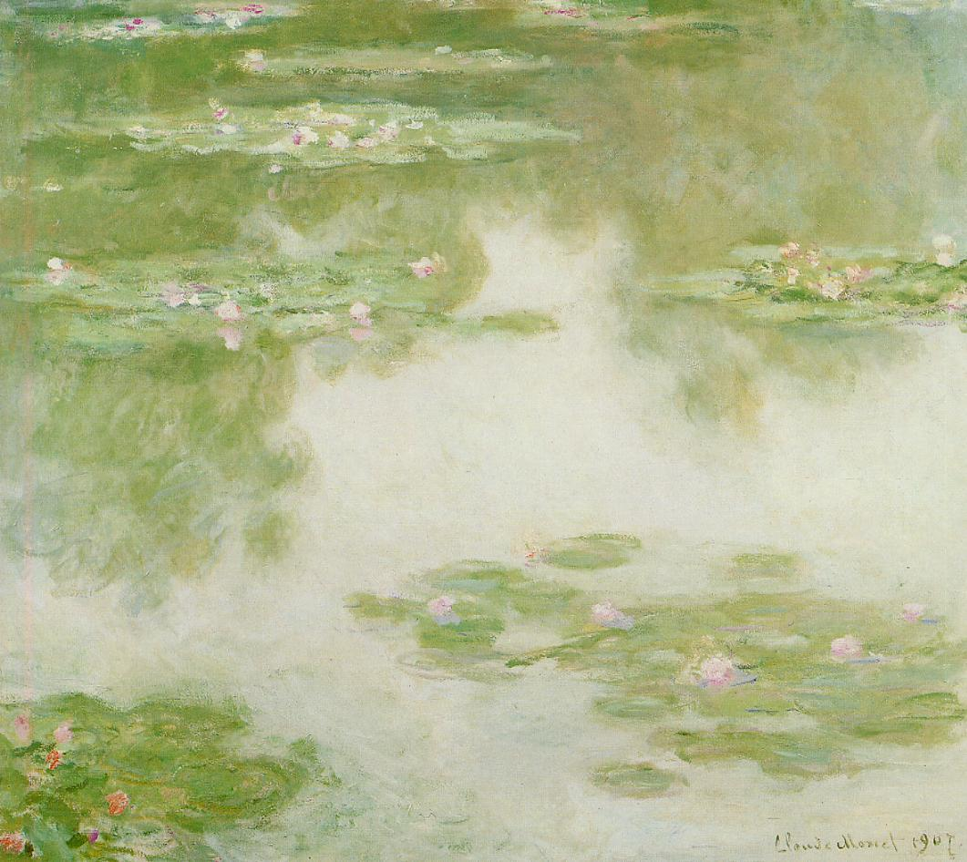 Water-Lilies11 1907 | Claude Monet | Oil Painting