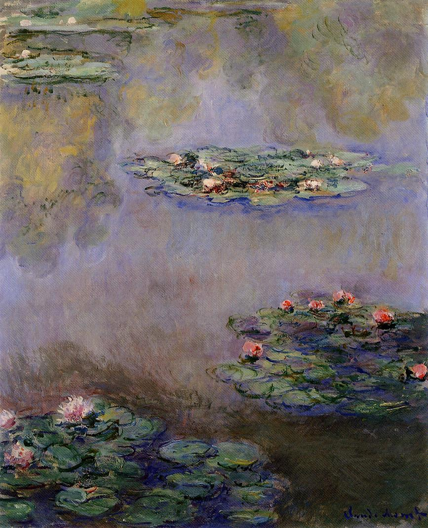Water-Lilies11 1908 | Claude Monet | Oil Painting