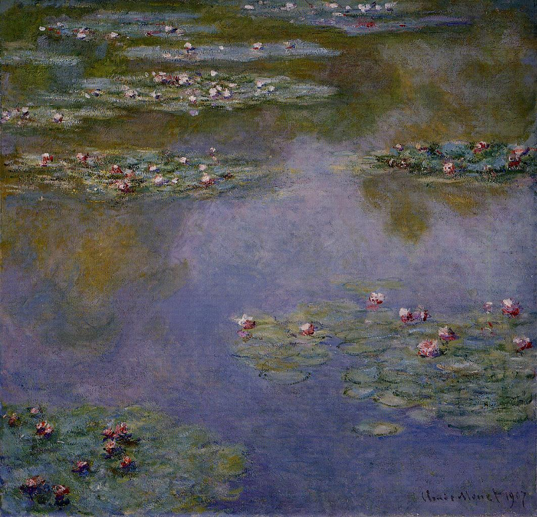 Water-Lilies12 1907 | Claude Monet | Oil Painting