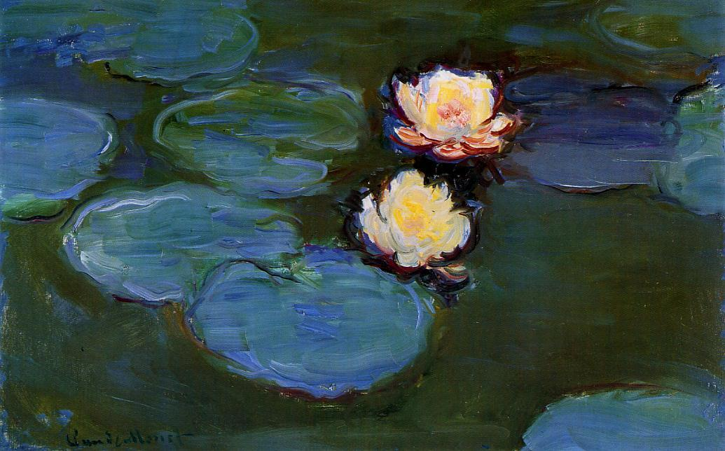 Water-Lilies1 1897-1899 | Claude Monet | Oil Painting