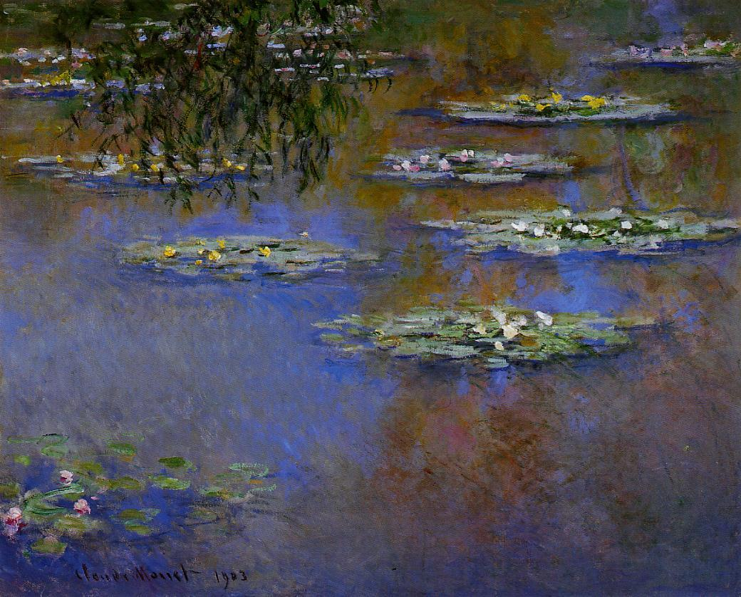 Water-Lilies1 1903 | Claude Monet | Oil Painting