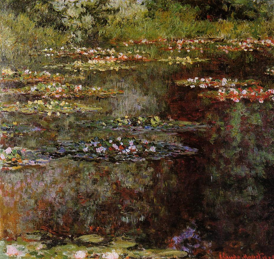 Water-Lilies1 1904 | Claude Monet | Oil Painting
