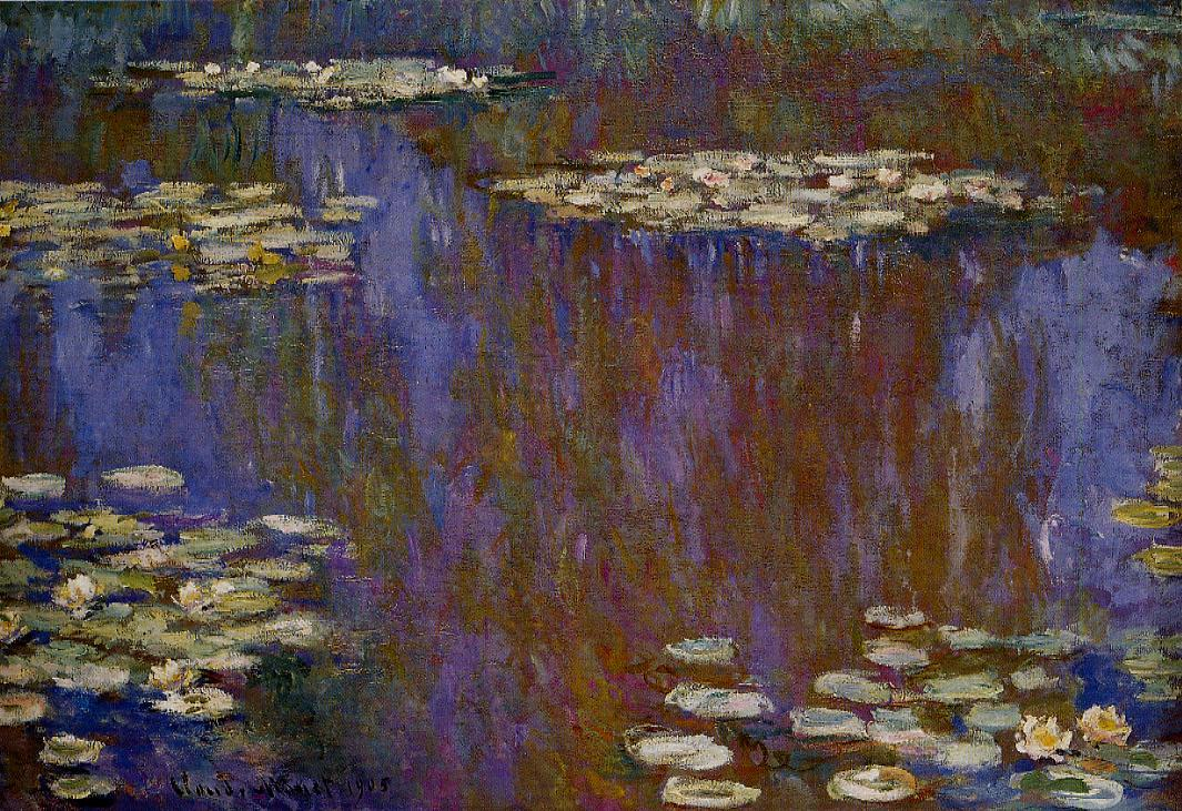 Water-Lilies1 1905 | Claude Monet | Oil Painting
