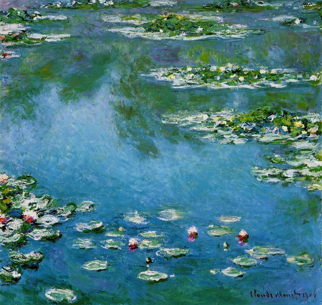 Water-Lilies1 1906 | Claude Monet | Oil Painting
