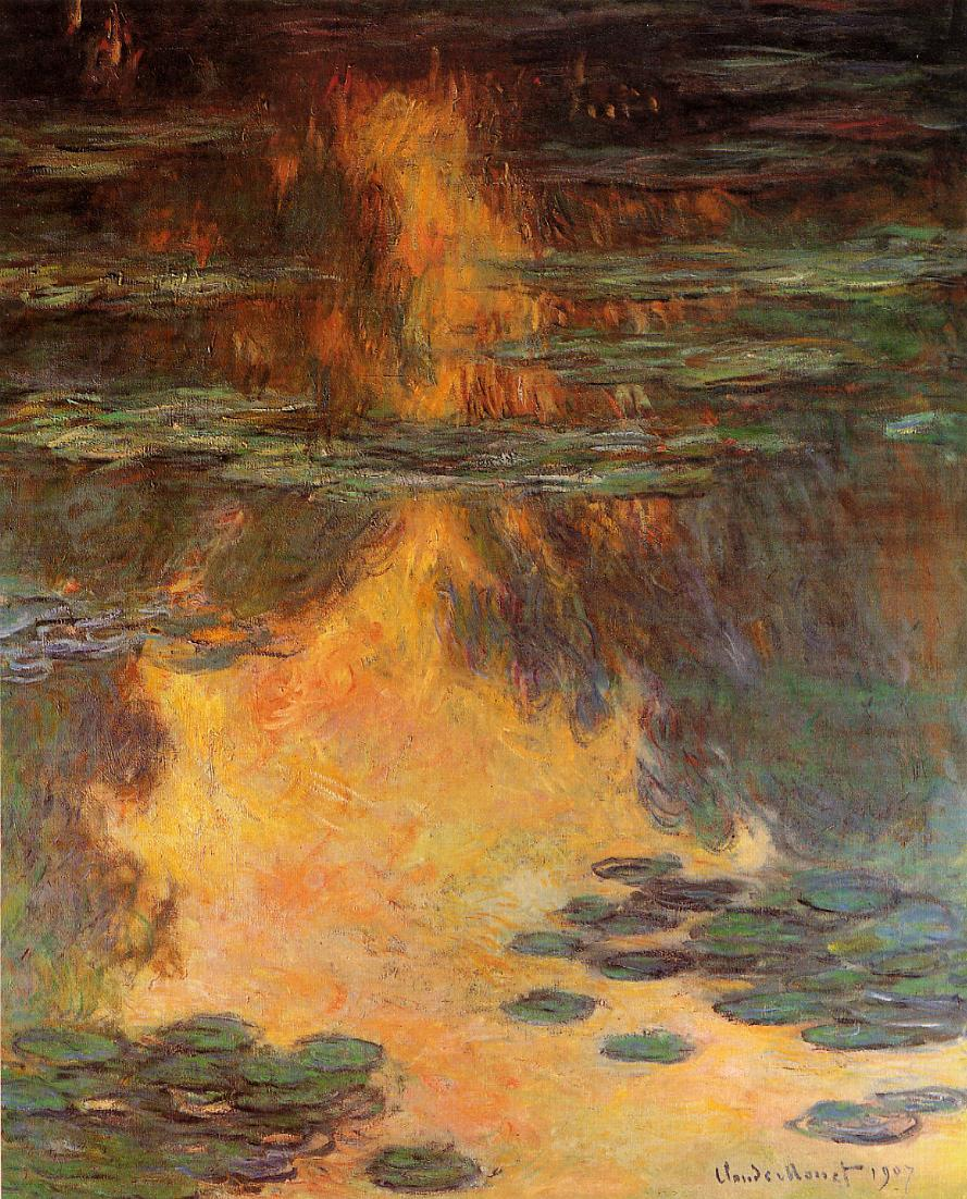 Water-Lilies1 1907 | Claude Monet | Oil Painting
