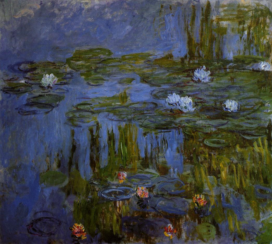 Water-Lilies1 1914-1917 | Claude Monet | Oil Painting