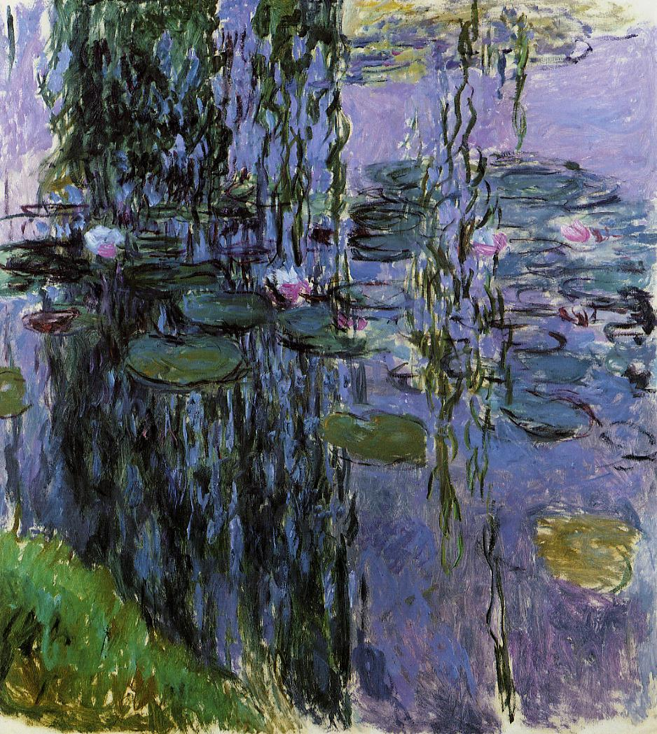 Water-Lilies1 1916-1919 | Claude Monet | Oil Painting