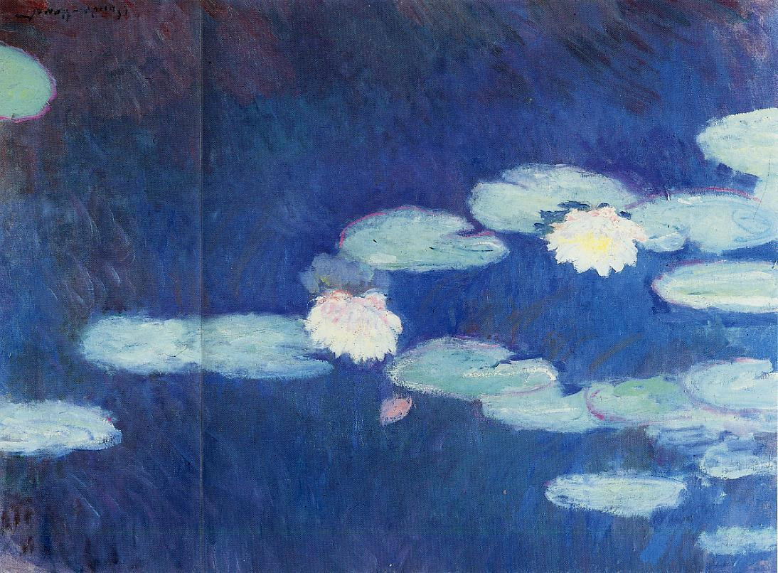 Water-Lilies2 1897-1899 | Claude Monet | Oil Painting